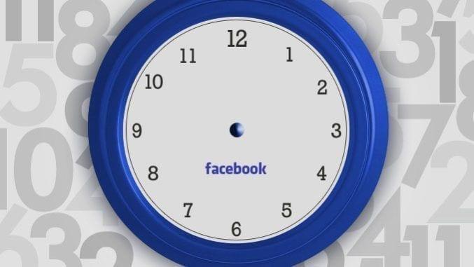 Il miglio tempo a cui postare su facebook
