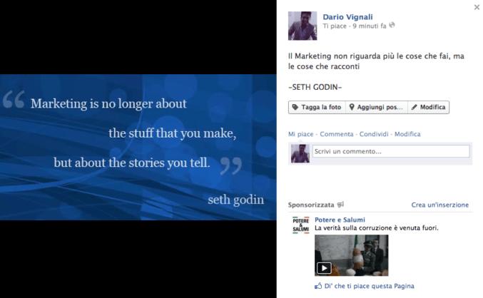 Aumentare i mi piace della pagina facebook e fare community for Frasi da mettere sotto le foto di instagram