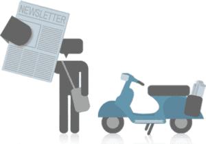 Alternativa a Google reader: la newsletter