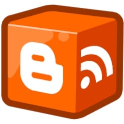wordpress vs blogger logo