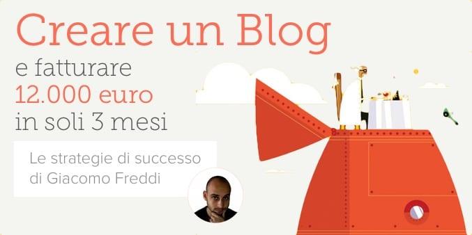 Creare un blog che guadagni sul web