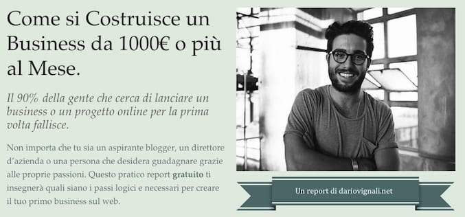 report di internet marketing