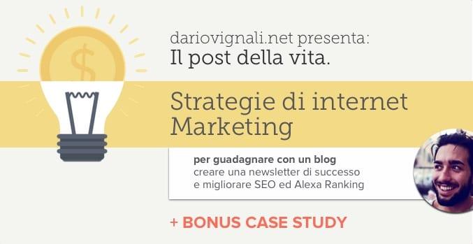 creare una newsletter di successo per il proprio blog