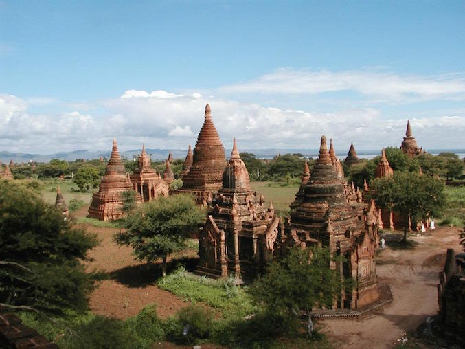 Bagan, in Birmania