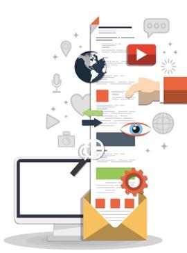 illustrazione strategia di marketing